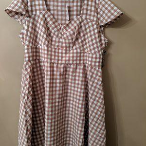 NWT Gingham Dress